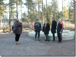Annki Hällberg, Falukuriren, fotograferar Lasse Dahlberg, Karin Byström, Jan Skarner och Olle Stark