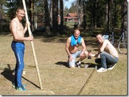Fv. Johan Näsman, Robert Söderberg och Kjell Almgren.