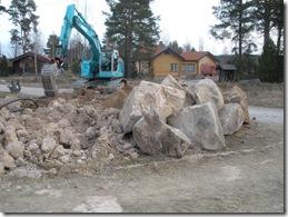 Grävning Perandersgattu 004