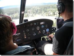 Piloten styr in över Olsnäs