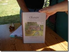 Framsidan av boken om Olsnäs