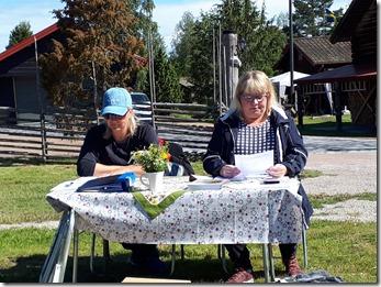 Årsmötat leddes av Karin Byström, ordförande och Elisabeth Bergkvis, sekreterare